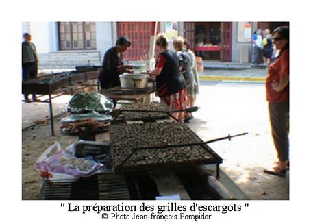 AM 69 p4 V 1 la préparation des grilles d escargots