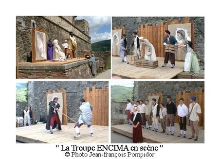 AM 65 p4 V 4-5-6 p5 V 1 La Troupe ENCIMA en scène