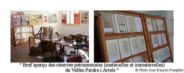 AM 43 p 3 vues 1-2 bref aperçu des réserves patrimoniales(matérielles et immaterielles) de Velles Perdre i Arrels