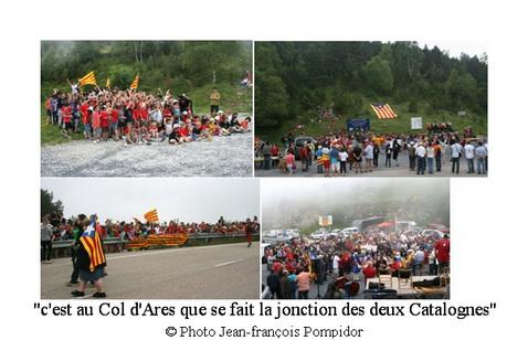 AM 63 V2 et V3  cest au Col d Ares que se fait la jonction des deux Catalognes