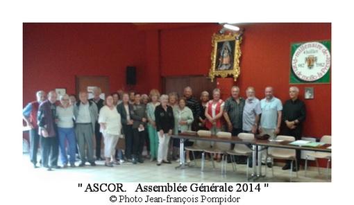 AM 64 p2 V 1 ASCOR Assemblée Générale 2014