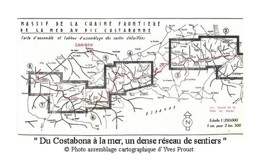 AM 67 p2 V1 du Costabona à la mer un dense réseau de sentiers