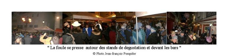 AM 81  p2 -3-4 6 la foule se presse  autour des stands de degustation et devant les bars