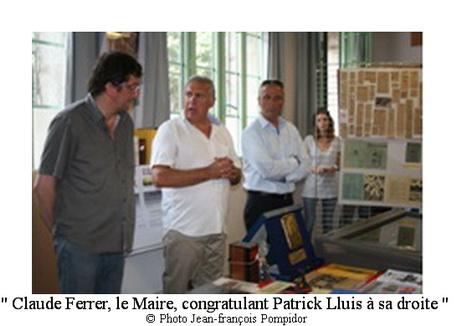 AM 95 p2 V8 Claude Ferrer le Maire congratulant Patrick Lluis à sa droite