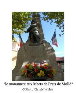 Costabona 3 V p7 le monument aux Morts de Prats de Molló