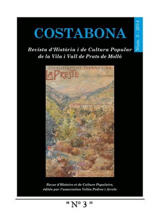 Costabona 3 page de couverture
