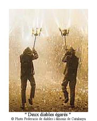 deux diables égarés par federacio de diables i dimonis de catalunya