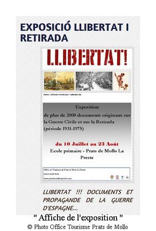 office tourisme Affiche de l exposition libertat