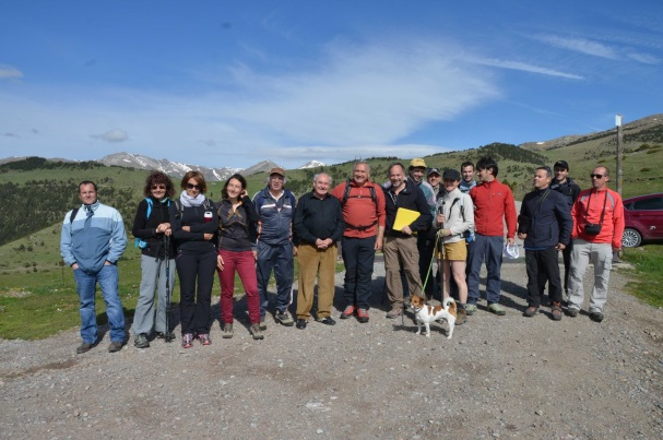 géomètres et élus au Col del Pal