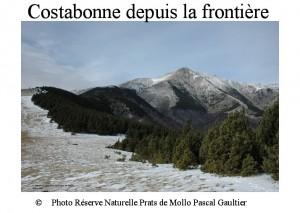 Costabonne depuis la frontière- partie EST SITE
