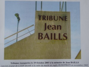 tribune jean Baills